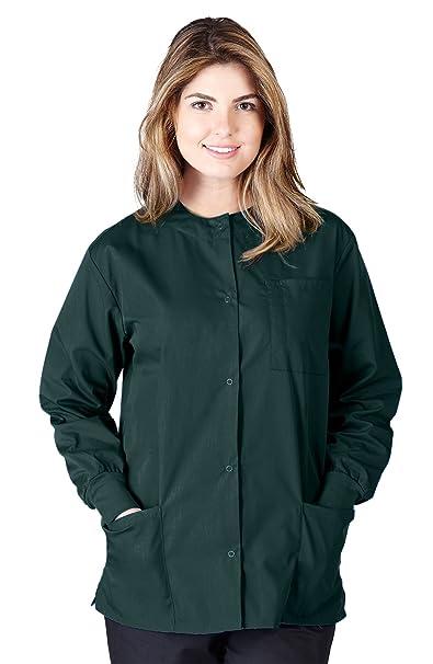 Natural Uniforms De las mujeres Chaqueta caliente hasta XXX-Grande Cazador verde: Amazon.es: Ropa y accesorios