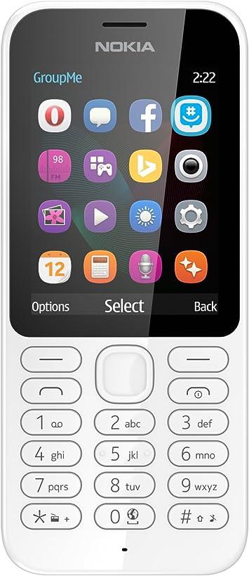 Microsoft Nokia 222 DS - Smartphone Libre de 2G, Pantalla de 2,4 ...