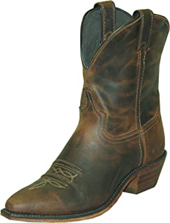 """product image for Abilene Women's Distressed 7"""" Cowgirl Boot Snip Toe"""