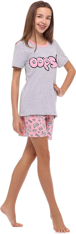 Merry Style Pyjama Ensemble Haut et Bas V/êtement dInt/érieur Fille MS10-241