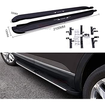 Amazon.com: Fit for VW Volkswagen Brand New Atlas 2018 Running Boards Side Step Nerf Bar ...