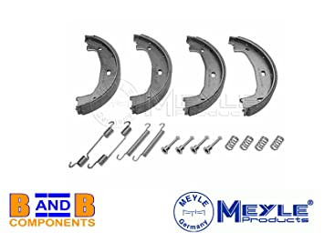 Meyle 314 042 0007/S mano freno estacionamiento Zapata + Kit de montaje: Amazon.es: Coche y moto
