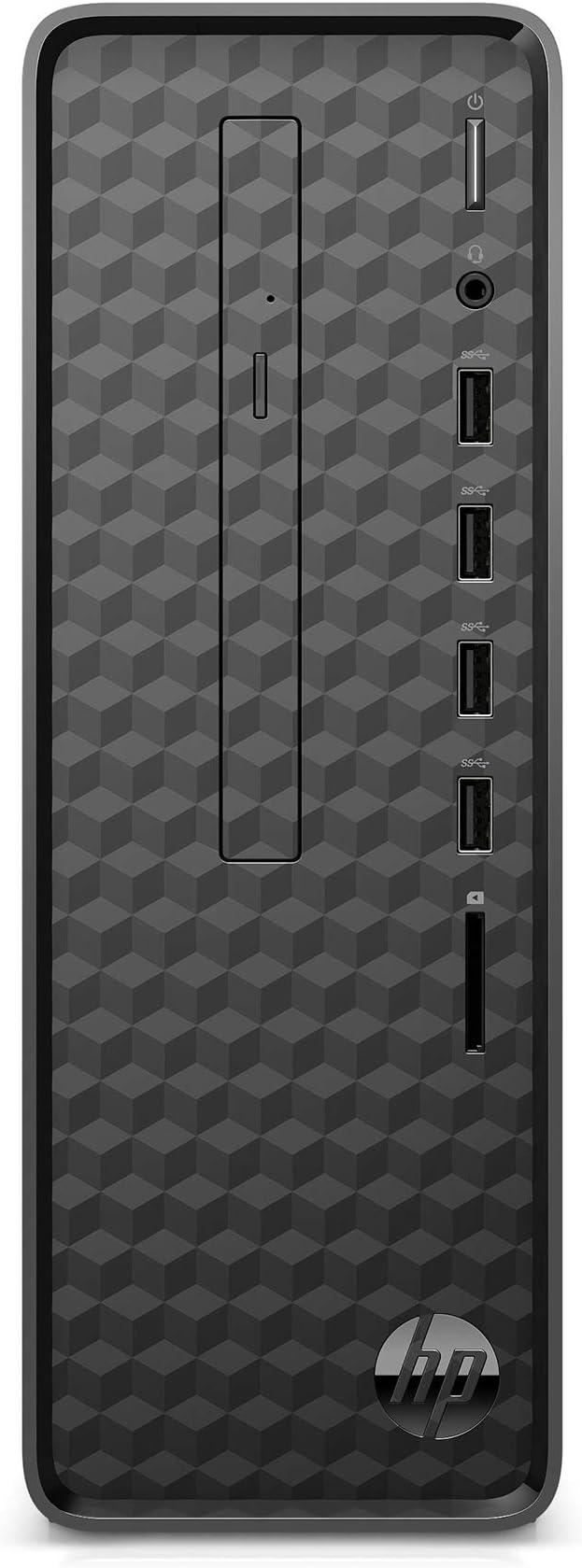 HP Slim Desktop, AMD Athlon Gold 3150U, 8GB RAM, 256 GB SSD, Windows 10 (S01-aF0020, Black) | Amazon