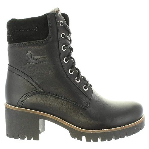 Botas de Mujer PANAMA JACK Phoebe B17 NAPA Negro: Amazon.es: Zapatos y complementos