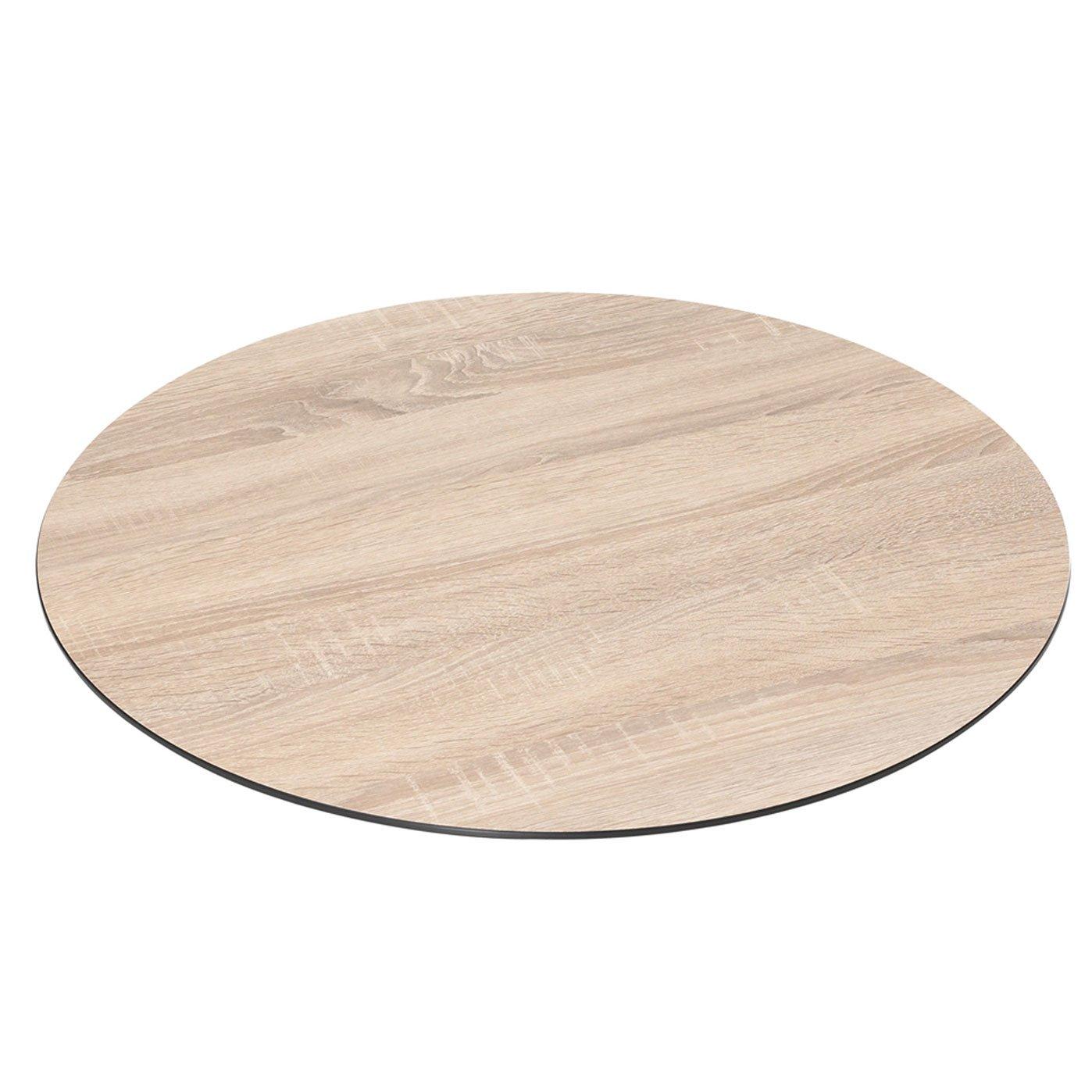 Tischplatte DiGaCompact Farbe: Eiche sägerau