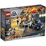 LEGO Jurassic World T. rex Transport 75933 Dinosaur Play Set with Toy Truck (609 Pieces) (Discontinued by Manufacturer)