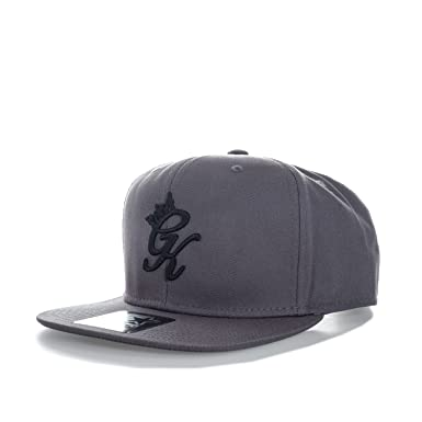 Gym King Mens Snapback Cap in Grey - One Size  Gym King  Amazon.co ... 19798bec1648