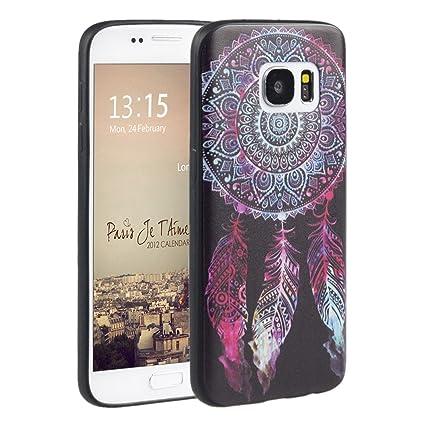 Galaxy S7,para Samsung Galaxy S7 Funda Silicona,Asnlove Funda y Carcasa Ultra Fino Gel TPU Silicona Case Cover Protectora Back Shell Cover Tapa ...