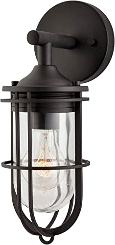 NOMA Outdoor Wall Lantern Waterproof Outdoor Down-Facing Exterior Light