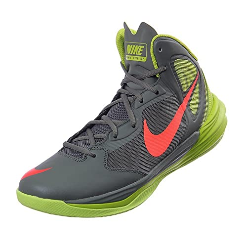 hot sales 427a2 79995 Nike Prime Hype DF Dual Fusion Phylon Men s Basketball Shoes 683705-009 11  D(M) US Grey Yellow  Amazon.ca  Shoes   Handbags