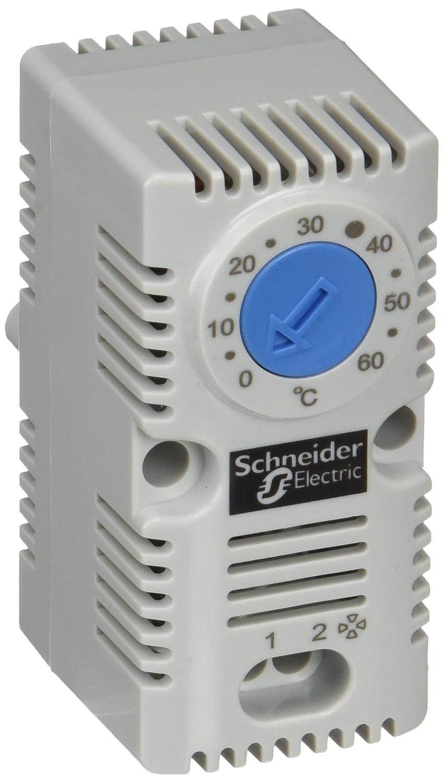 Schneider Electric NSYCCOTHO Termostato Sencillo (NA Vent) Azul (ºC): Amazon.es: Industria, empresas y ciencia