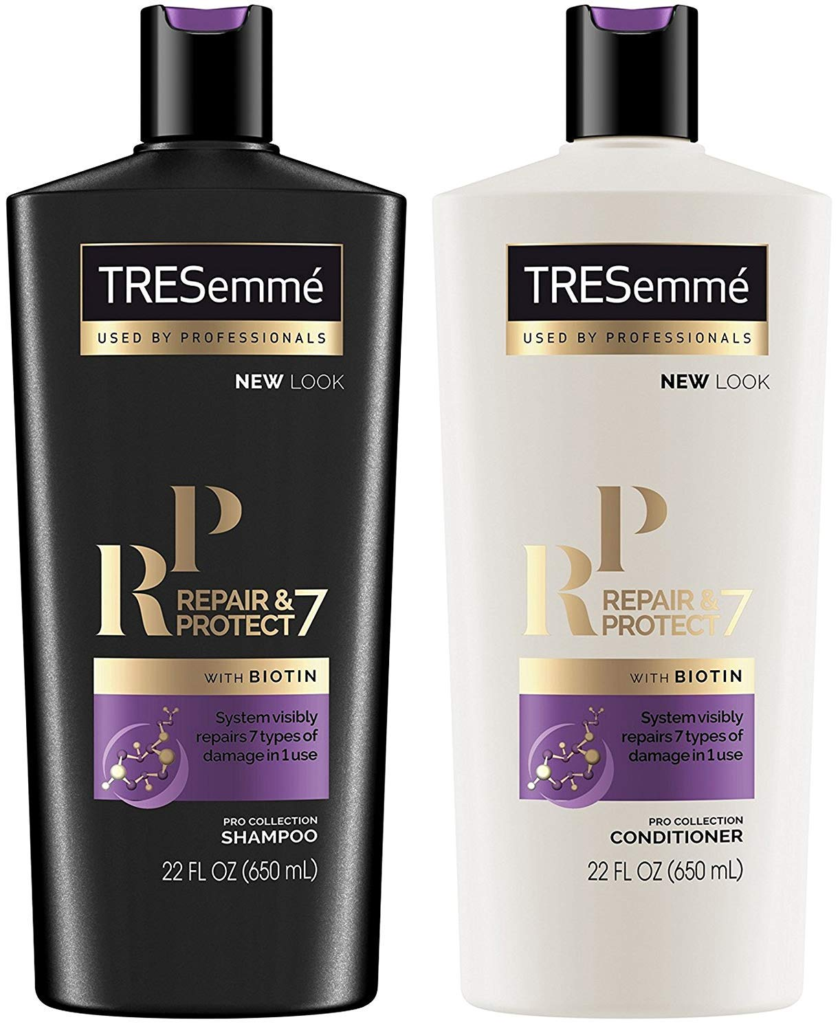 Tresemme Shampoo & Conditioner Repair & Protect 7 With Biotin - 22 Ounce each