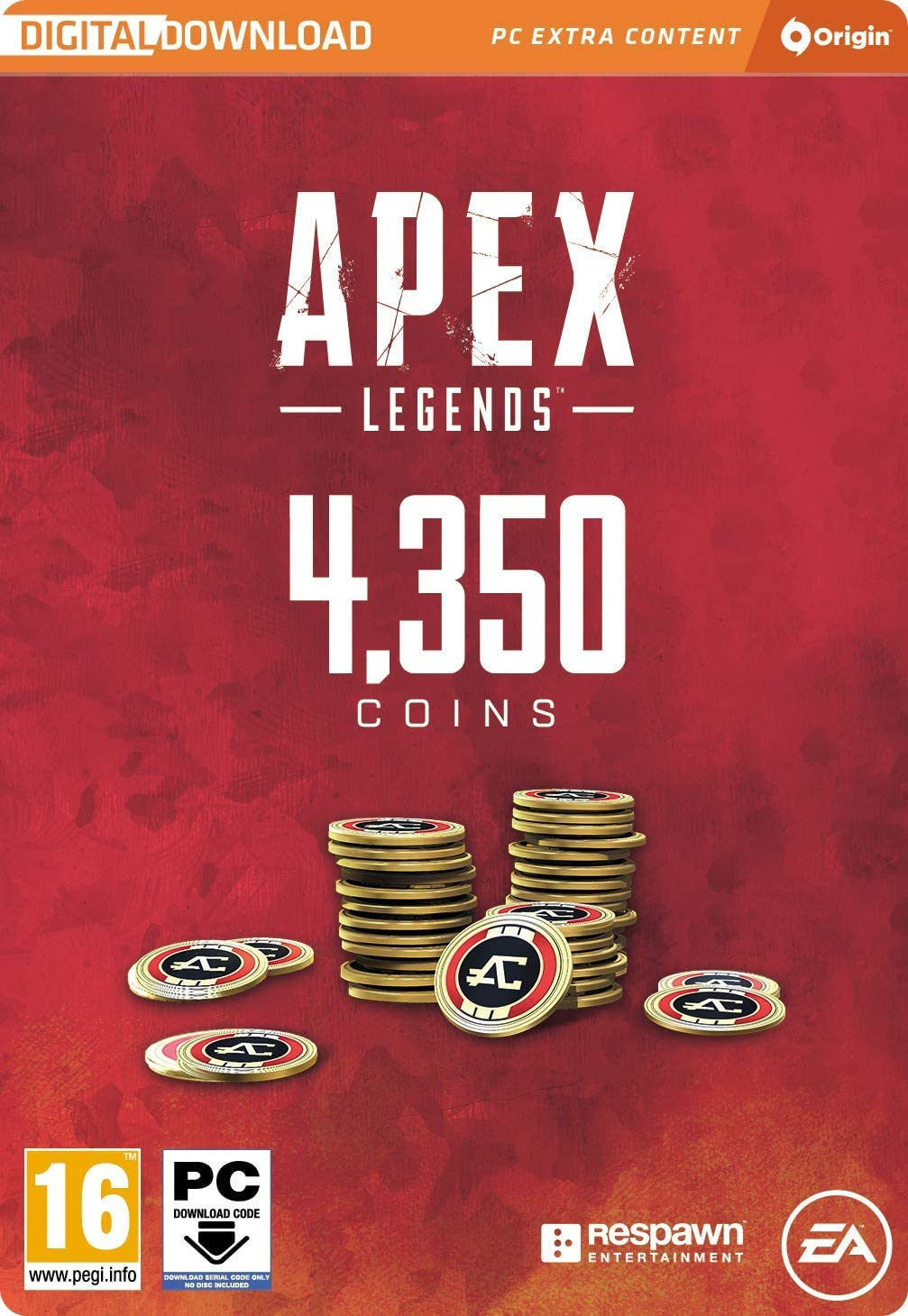 APEX Legends - 4350 COINS | PC Download - Origin Code