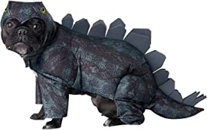 Dark Green_Stegosaurus Dog Costume