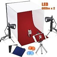 Emart 16 x 16 Inch Table Top Photo Photography Studio Lighting Light Shooting Tent Box Kit