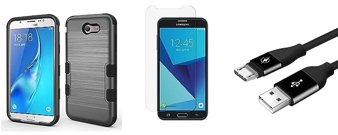 Amazon.com: Samsung Galaxy J7 PERX – Bundle: grado militar ...