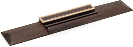 WD® Ebony Classical Acoustic Guitar Bridge with Saddle WD8603EB