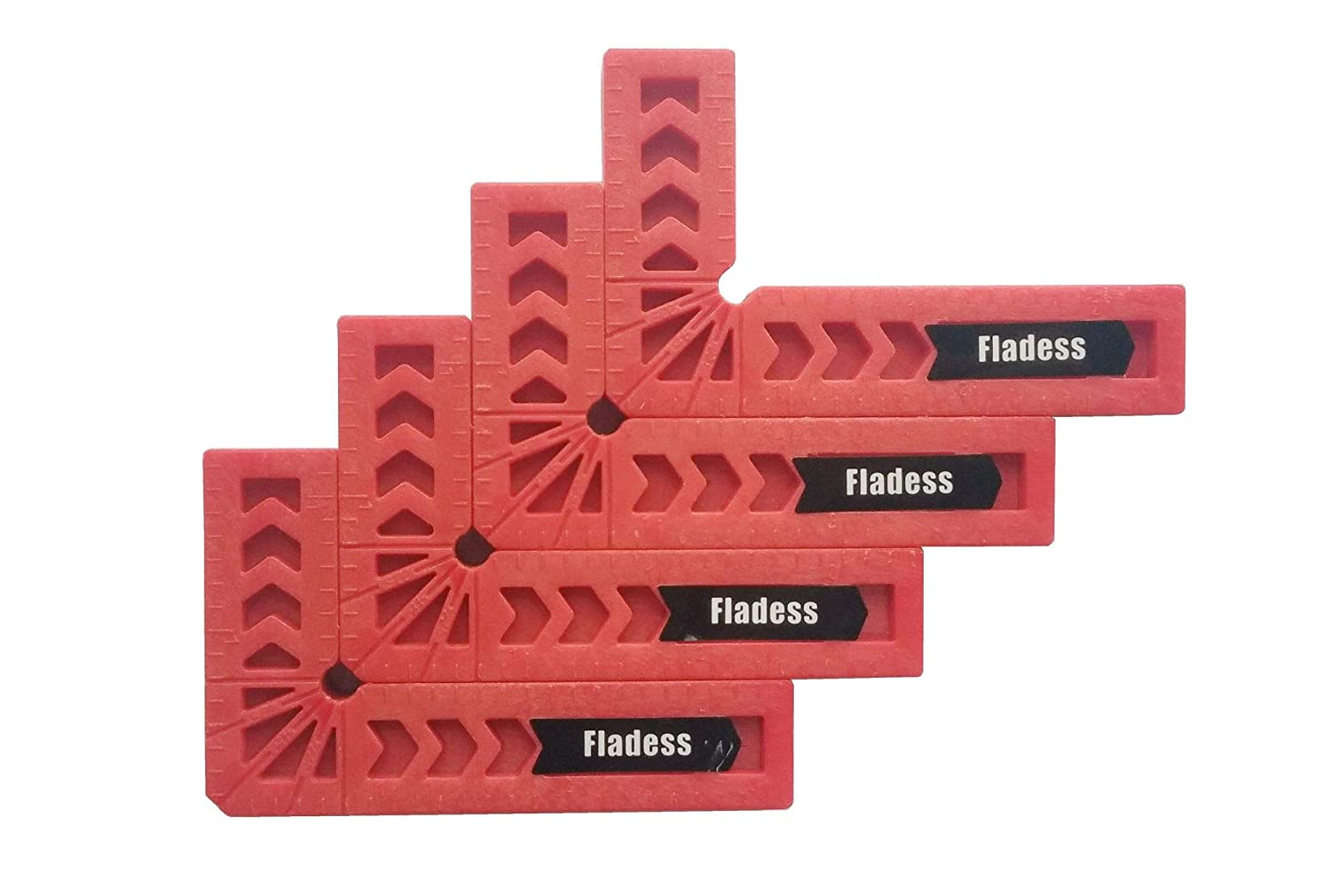 Fladess 90 Degree Position Squares (Set of 4, 6 Inch)