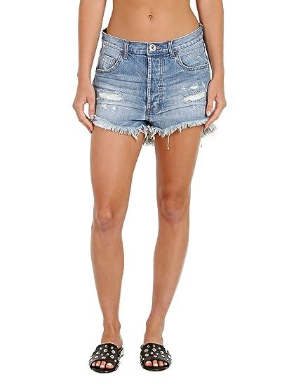 cad6414b30 Amazon.com: One Teaspoon Women's Outlaws Shorts, Johnnie Blue, 26: Clothing