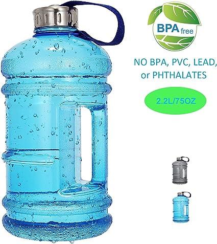 Very Large Water Bottle Sports Drink Big Extra Capacity Huge Plastic Bpa Free