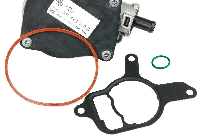 RKX VW 2.5L VACUUM PUMP REBUILD/SEAL KIT for Volkswagen 2.5 L Jetta, Beetle, Passat, Rabbit, Golf by RKX
