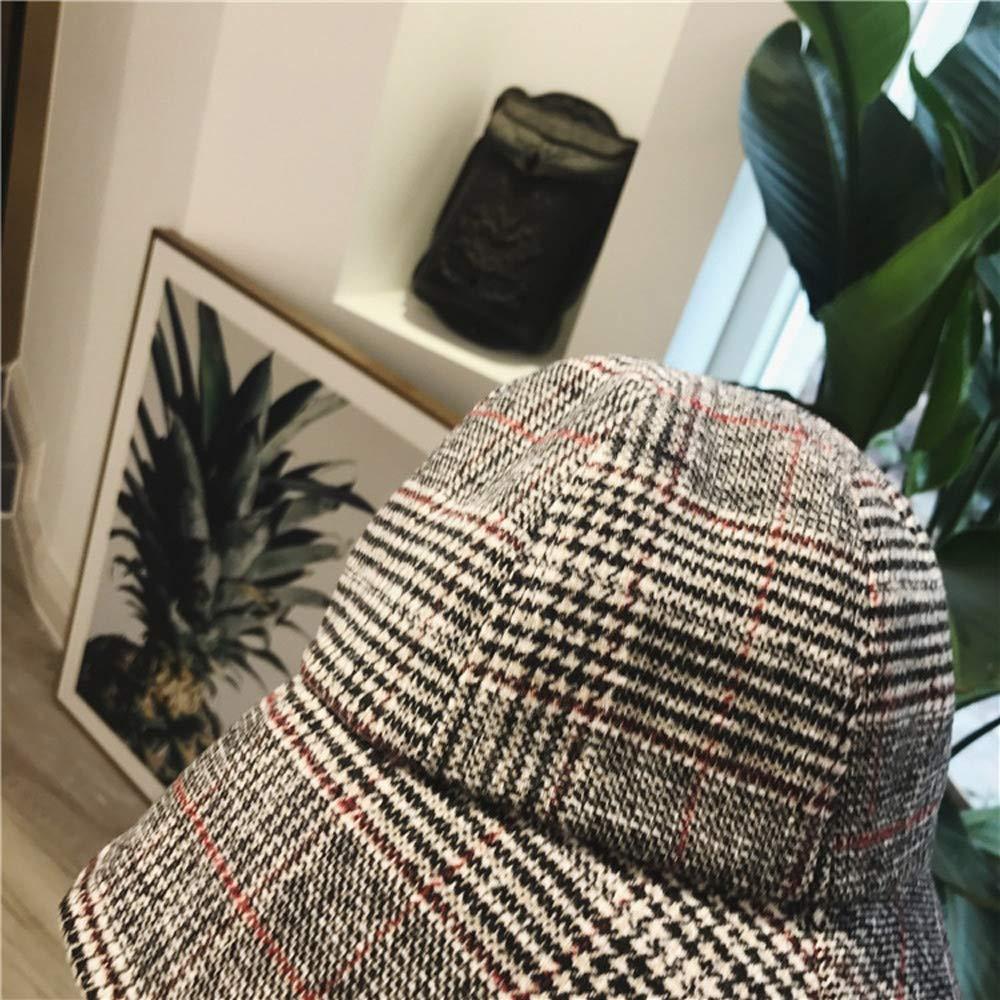 ver Yunbai Sombrero del sombrero del cubo Pescador sombrero del algod/ón del sombrero al aire libre Mujer Cap de pesca deportiva sombrero del sol del sombrero de Hip Hop cuenca del sombrero del visera