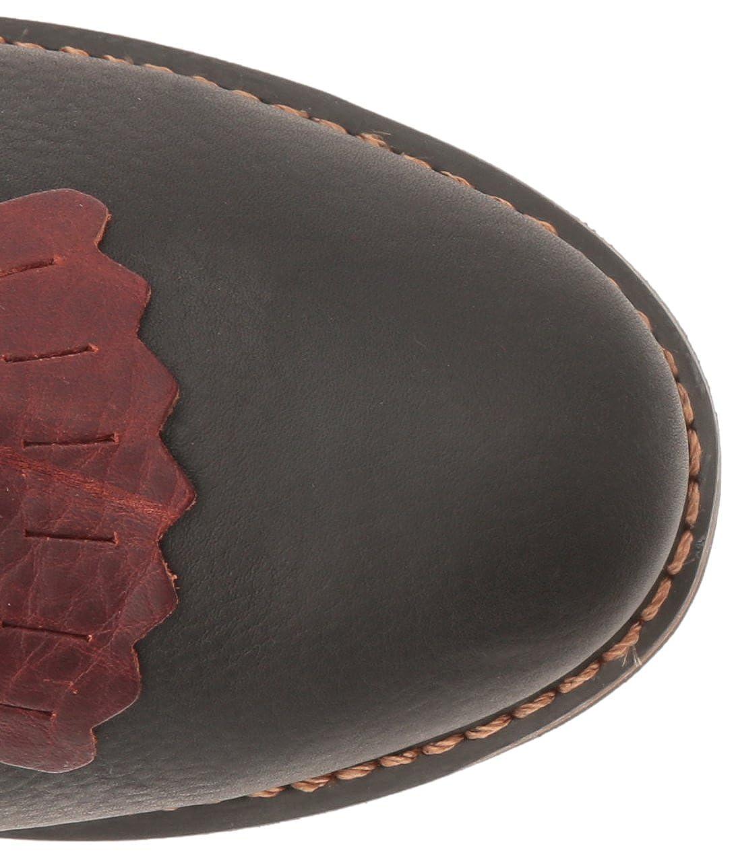 AdTec 1179 9 Packer Chestnut//Black Work Boot