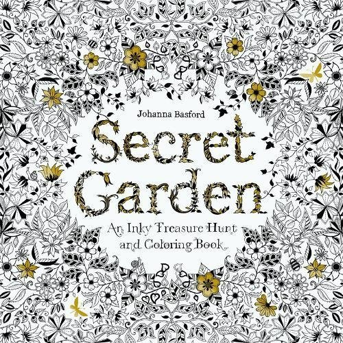(Secret Garden: An Inky Treasure Hunt and Coloring)