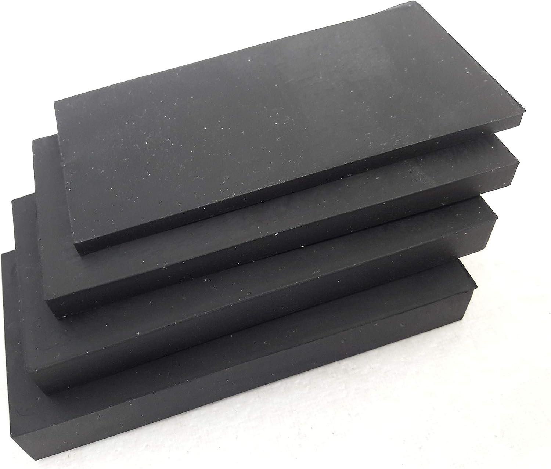 5/unidades de 40/x 80/mm/ /Placa de caucho 3/mm 5/mm 8/mm 10/mm Grosor