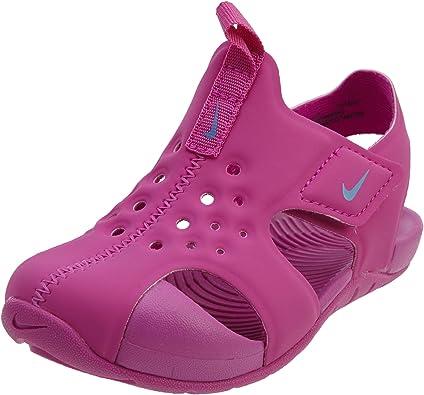 auténtico auténtico más fotos revisa Sandalias Nike Sunray Protect 2 Hyper Magenta: Amazon.es: Zapatos ...