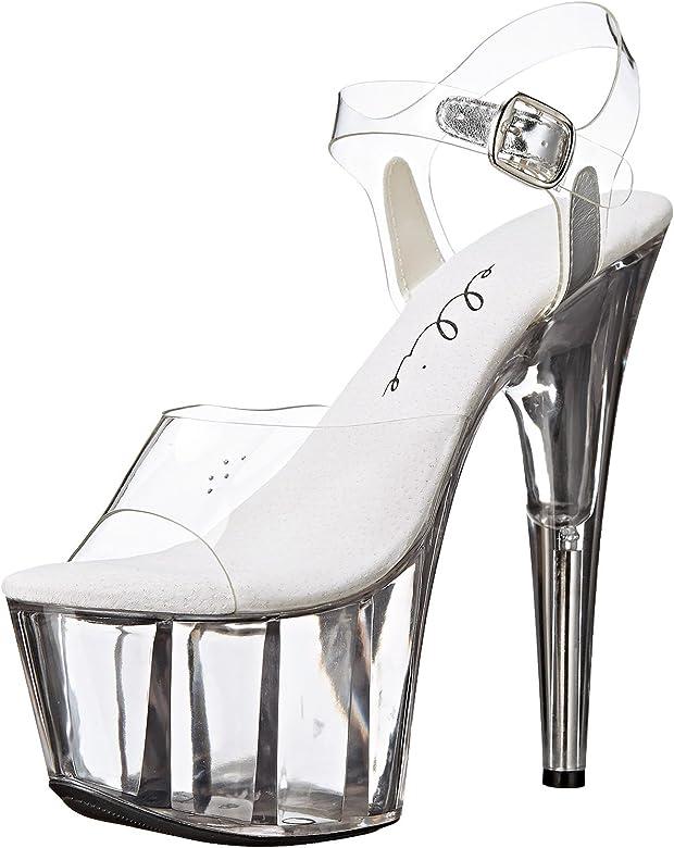 fe58ee74e34 Amazon.com | Summitfashions Women's Sexy High Heels 7 Inch Heels ...