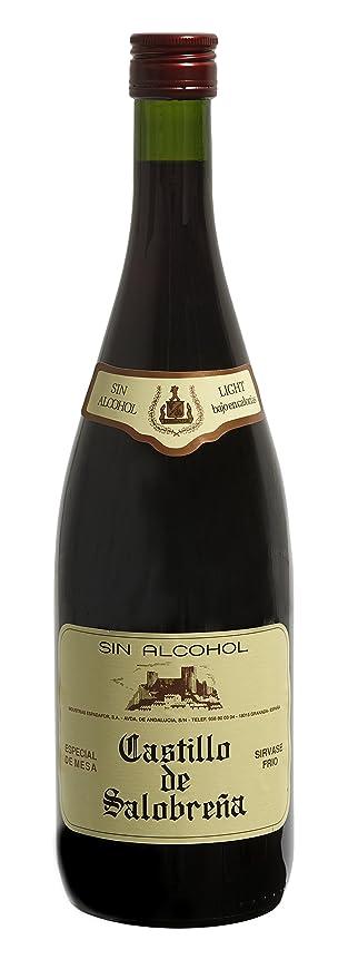 Castillo de Salobreña - Zumo de manzana y mosto de uva sin alcohol, botella de vidrio 1 L: Amazon.es: Alimentación y bebidas