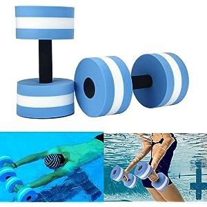 Mancuernas de espuma de Lembeauty, ideales para practicar yoga, culturismo, elevaciones de brazo