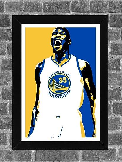 2be532f1579e3 Amazon.com : Golden State Warriors Kevin Durant Portrait Sports ...