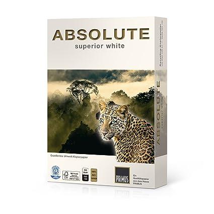 2500 hojas reciclado - Papel (DIN A4, 80 g/m² ISO 100 Blauer ...