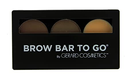 Brow Bar to Go, Brush on Brow – Gerard Cosmetics, Medium to Ebony Brunette