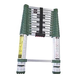 Xtend & Climb Pro Series 780P+ Telescoping Ladder, Green