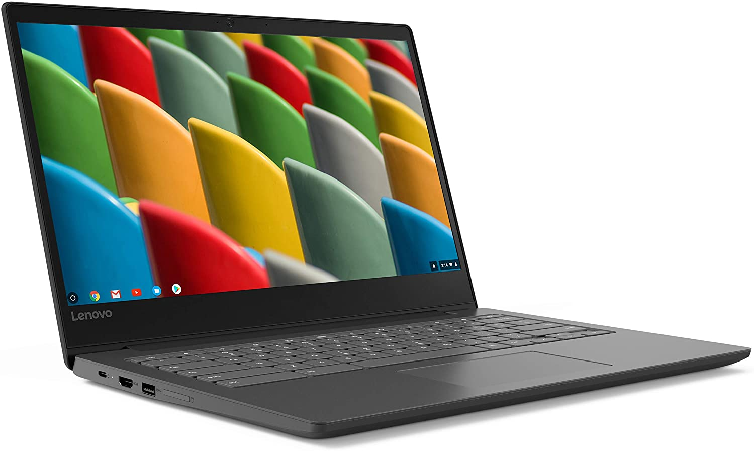 "Lenovo Chromebook 14"" HD Display Business Laptop, MediaTek MT8173C Quad Core Processor up to 2.1GHz, 4GB LPDDR3, 32GB eMMC, Webcam, Blutetooth, HDMI, Chrome OS, Up to 10-hr Battery Life, Black"
