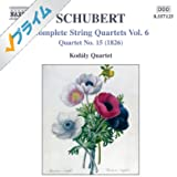 Schubert: String Quartets (Complete), Vol. 6