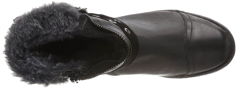 Bugatti Damen 431571503059 431571503059 Damen Stiefeletten, Schwarz (schwarz/ Dark Grau 1011) 75a9d3