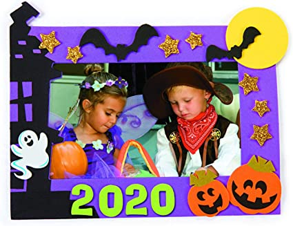 2020 Halloween Picture Frames Amazon.com: 2020 Dated Halloween Picture Frame Craft Kit   Makes