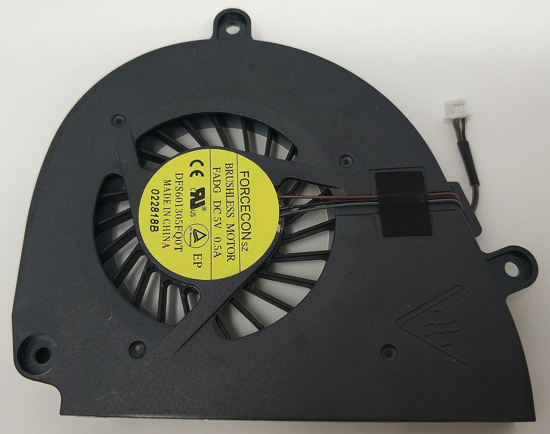 COMPRO PC Ventola di Raffreddamento Fan per Packard Bell EASYNOTE TS11HR