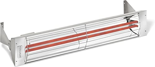 Infratech WD-Series Dual Element Stainless Steel 30″ 3000 Watt Electric Outdoor Heaters
