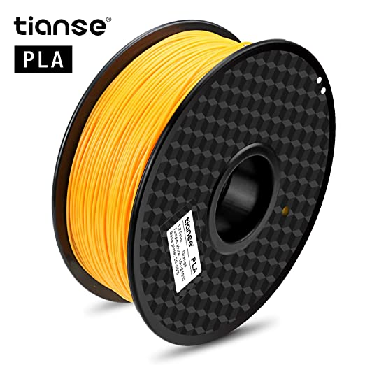 119 opinioni per TIANSE Arancione filamento PLA per