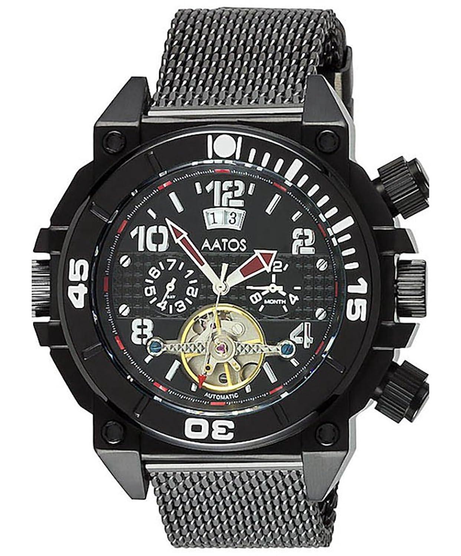 エムゼーアイ 腕時計 ドイツ AATOS 自動巻き カレンダー OvirBBB (並行輸入品) B00IN0WNPE