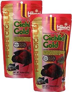 HIKARI 42055043281 kzci 8.8-Ounce Cichlid Gold Floating