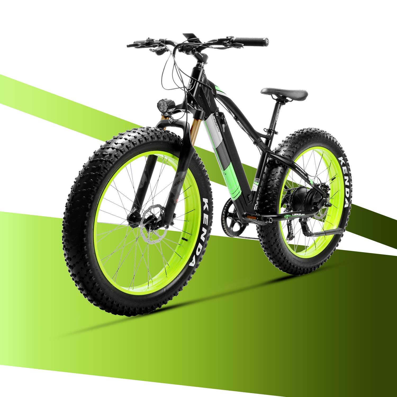 LANKELEISI Bicicleta eléctrica de Bicicleta XC4000 City y ...