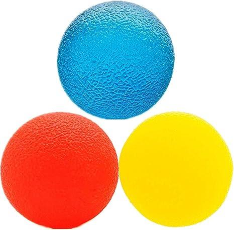 3 niveles de resistencia terapia física pelota de mano. Pelota de ...