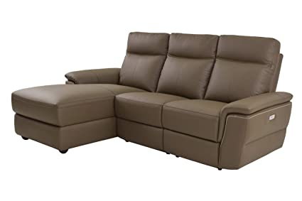 Terrific Amazon Com Obara 4Pc Power Sectional With Non Power Armless Bralicious Painted Fabric Chair Ideas Braliciousco