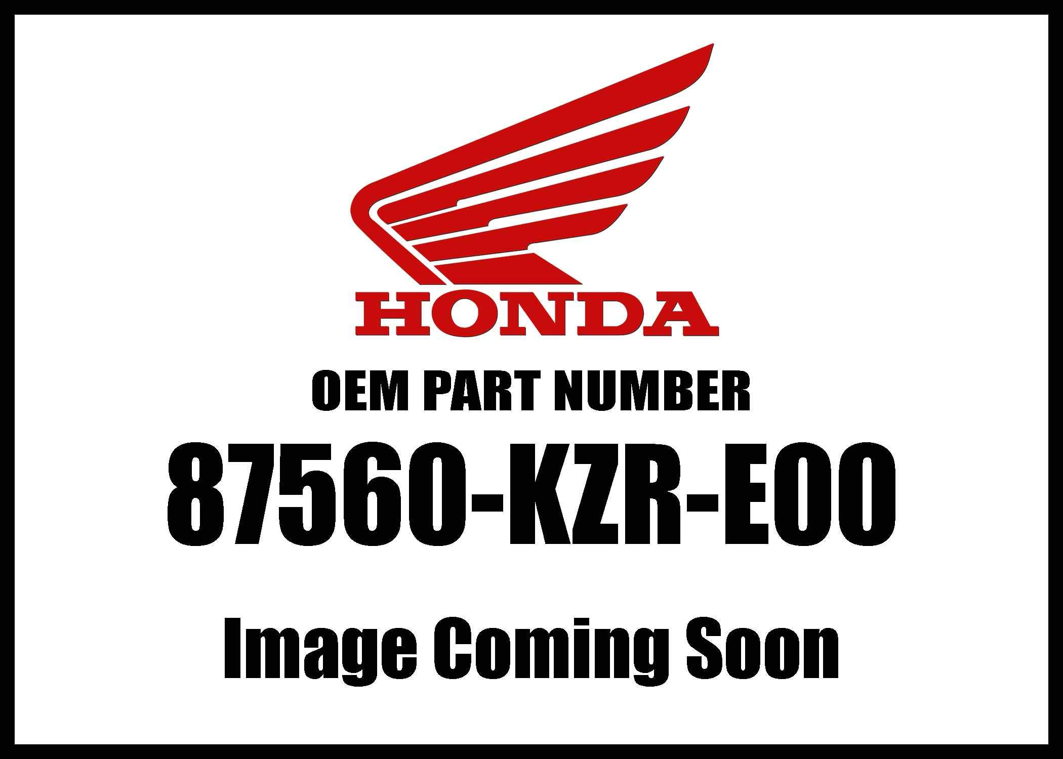 Honda Ww150 '18 Label Drive 87560-Kzr-E00 New Oem